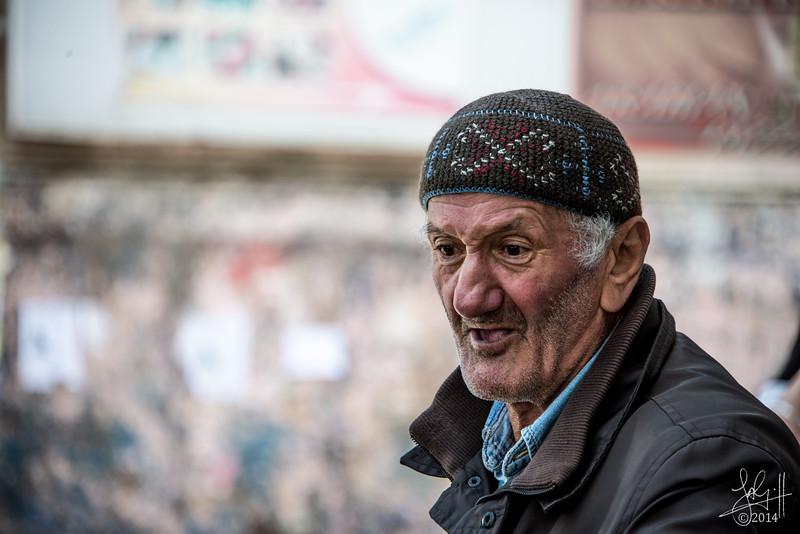 Street merchant, Tbilisi, Georgia