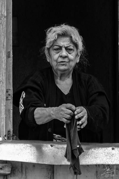 Woman washing, Tbilisi, Georgia
