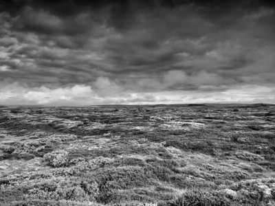 So much of Iceland was a violent combination of land and sky. This photo captures both.