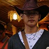 THE OLD AMERICAN WEST IS POPULAR IN CHINA AND SO ARE COWBOY HATS FOR MEN TO WEAR