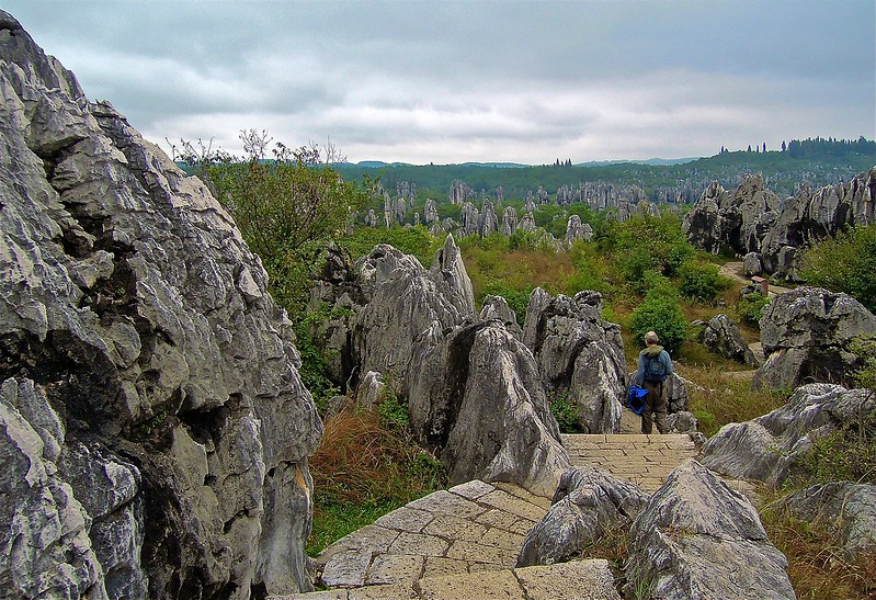THE STONE FOREST, YUNNAN PROVINCE