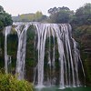 HUANGGUOSHU WATER FALLS, LARGEST IN ASIA.<br>CAN YOU SEE THE PEOPLE WALKING BEHIND IT?