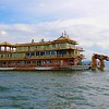 TOURIST BOAT ON ERHAI LAKE, DALI<br>YUNNAN PROVINCE