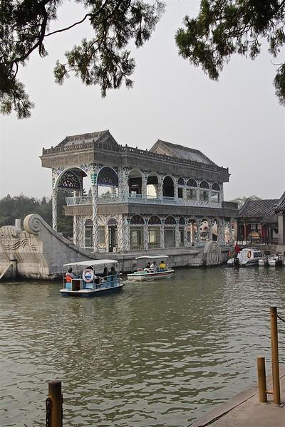 Marble boat at the Summer Palace