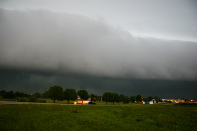 Storm chase near Rantoul IL