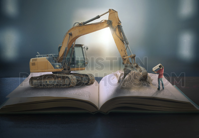 Digging into the pages