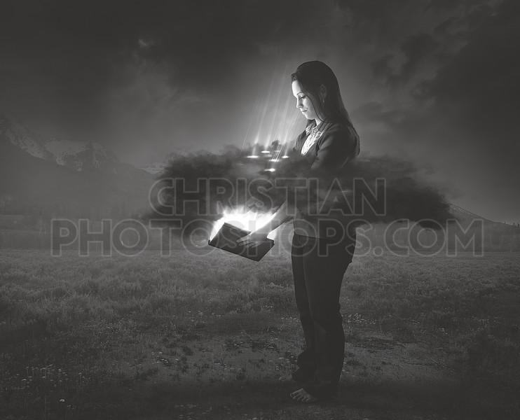 Bible shines through darkness