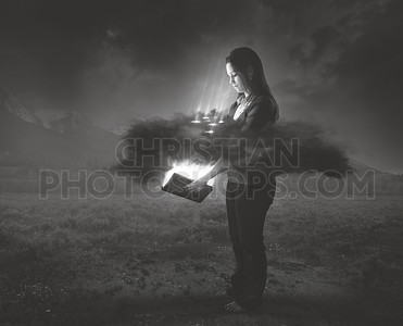 Bible shines through darkness