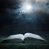 Bible at midnight