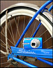 The Olympus Stylus 1020 - in Schwinn Blue!