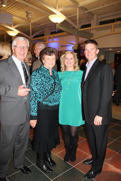 Bob and Diane Shaw, Jennifer Gibosn, Derek Gibson