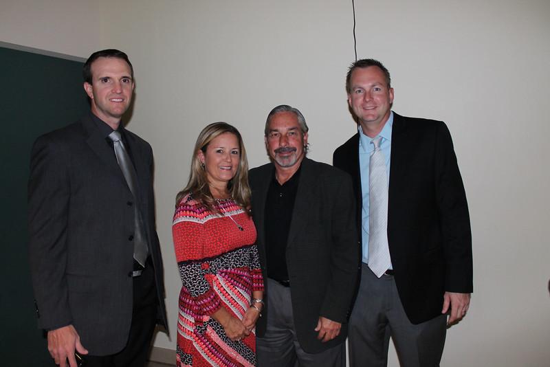 Bryan Stanley, Mary Russell, Rick Sorrell, Matt Dunn