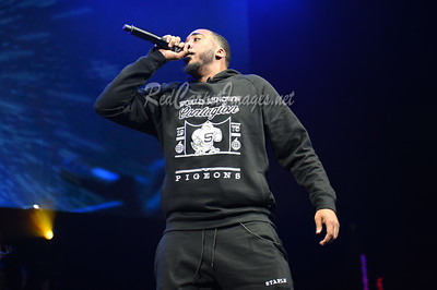 DETROIT, MI - DECEMBER 28:  Polo Frost performs on stage at The Big Show at Little Caesars Arena on December 21, 2017 in Detroit, Michigan. (Photo by: Aaron J. / RedCarpetImages.net)