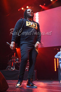 DETROIT, MI - DECEMBER 28:  Tee Grizzley performs on stage at The Big Show at Little Caesars Arena on December 21, 2017 in Detroit, Michigan. (Photo by: Aaron J. / RedCarpetImages.net)