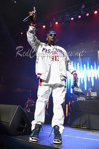 DETROIT, MI - DECEMBER 28:  Trick Trick performs on stage at The Big Show at Little Caesars Arena on December 21, 2017 in Detroit, Michigan. (Photo by: Aaron J. / RedCarpetImages.net)