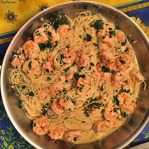 Alpharetta,    01/26/2018 NYT Cooking: Classic Shrimp Scampi This work is licensed under a Creative Commons Attribution- NonCommercial 4.0 International License