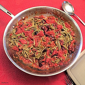 Pasta Puttanesca    Mark Bitman NY Times Alpharetta,    02/12/2018 This work is licensed under a Creative Commons Attribution- NonCommercial 4.0 International License