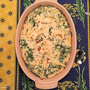 Alpharetta,    01/31/2018 Food Network: Baked Ricotta and Spinach Rigatoni This work is licensed under a Creative Commons Attribution- NonCommercial 4.0 International License