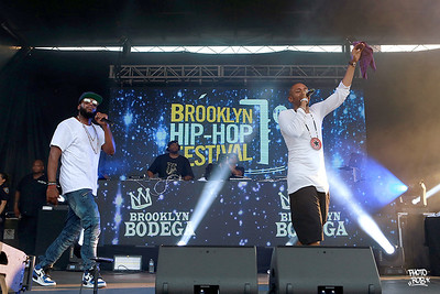 The @bkhiphopfest 2018: Featuring: Black Star, Pharaoh Monch with DJ Boogie Blind, Mister Cee, Skyzoo, Caleborate, LATASHA, Radamiz, Dyme-A-Duzin, and Milo Case Hosted By: Uncle Ralph McDaniels and Torae.