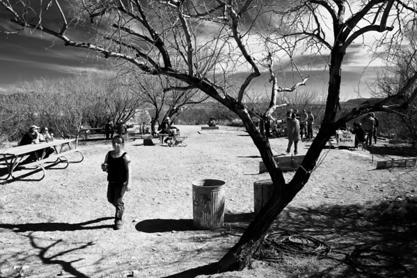 A stroll in the Park, Terlingua, Texas