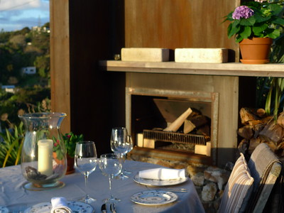The Boatshed - romantic dinner setting