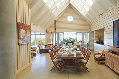 The Boatshed - Hall leading to relaxed living spaces