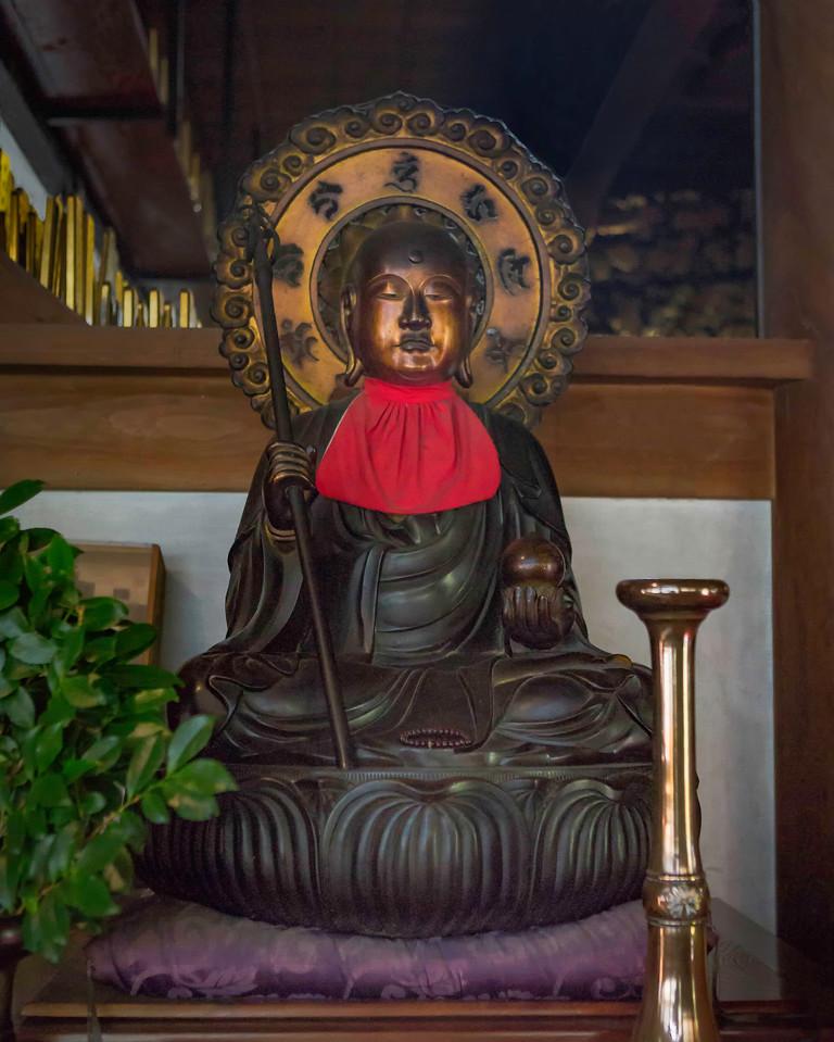 Jizo-sama in a Chapel at the Eiheiji Temple.