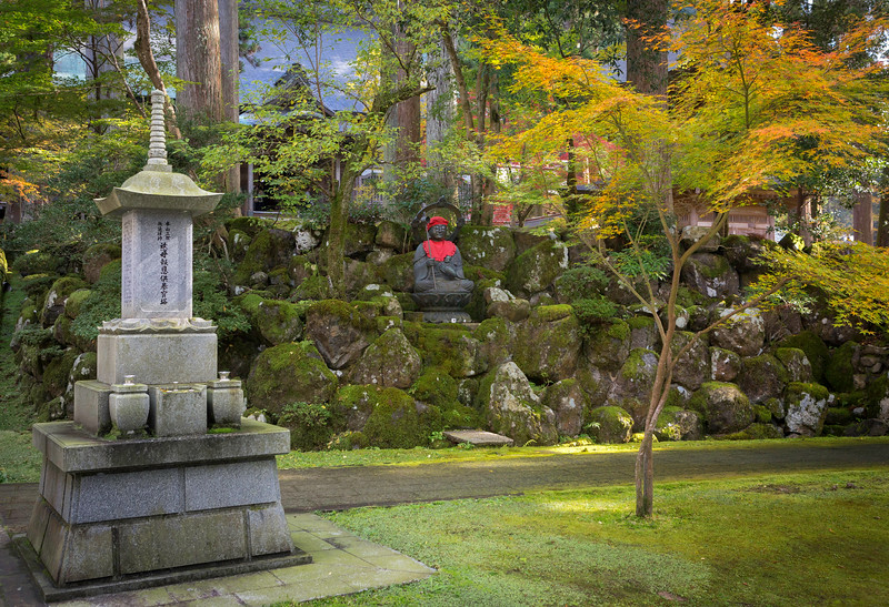 Jizo-sama at the Eiheiji Temple.