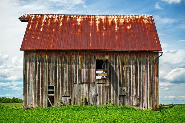 Broadside of a Barn