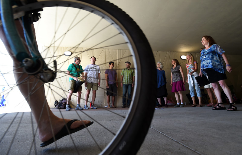 Boulder Bike Underpass Choir