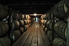 "Buffalo Trace Distillery, ""The Warehouse""--with cross-screen star at the back."