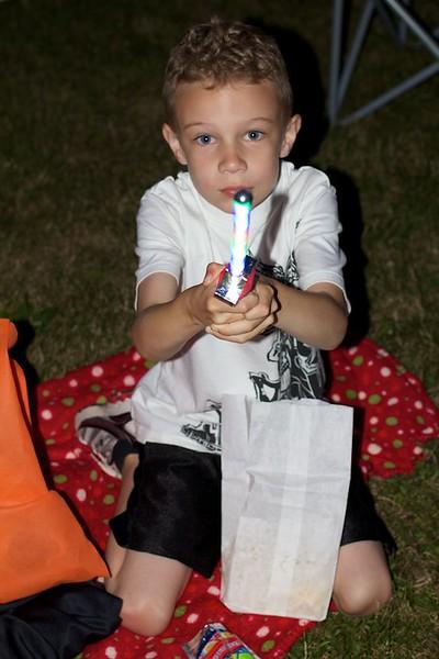 Koben and his firework night sword