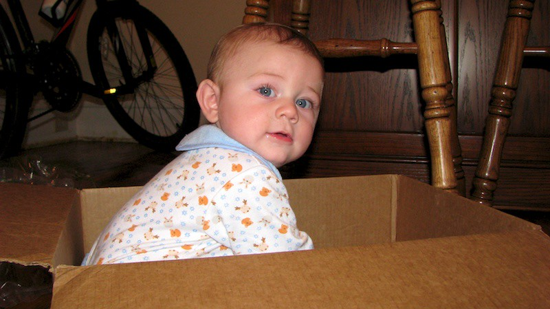 I never knew Amazon shipped out babies