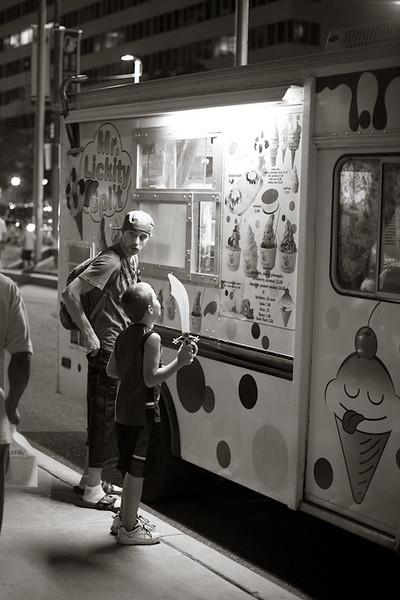 Ice cream at nearly 11pm….great idea!