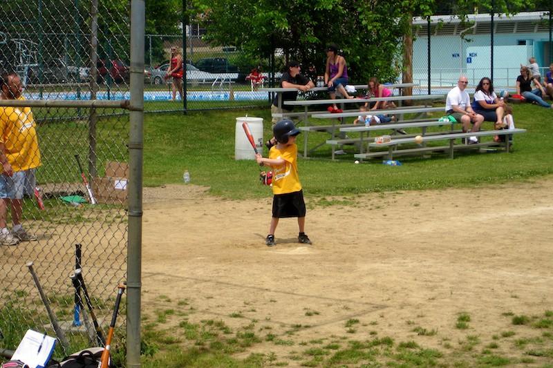 Taking a big swing
