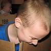Koben eating the box