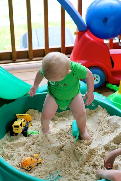 Loving the sand
