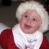More of Santa Nolan. He just loves that hat.