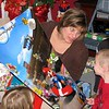 Aunt Kimmie showing Koben with Mario poster