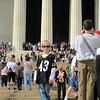 Koben at the Lincoln Memorial