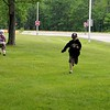 Playing tag at the rest stop