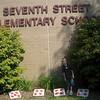 Outside of school