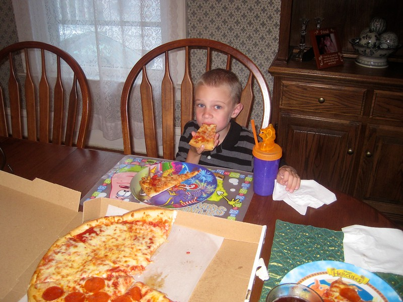 A pizza reward