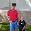 Koben with his Pop