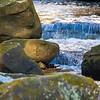 A mini waterfall at Freedom Falls.