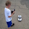 Playing with the RC car