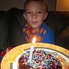 The birthday doughnut