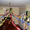 The party room, all ready for a party