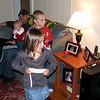 Koben taking on a challenge from Hayden