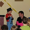 Koben helping with a magic trick